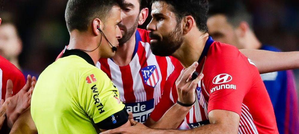 ULTIMA ORA | Decizia Comisiei de Apel din Spania in cazul Diego Costa! Atletico a facut apel la suspendarea de 8 etape pentru gestul incalificabil al atacantului