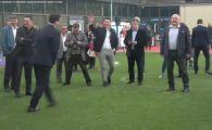 Atentie, TRAGE Burleanu! :)) Ce a facut presedintele FRF la penalty-uri in fata sefilor din Bulgaria, Grecia si Serbia