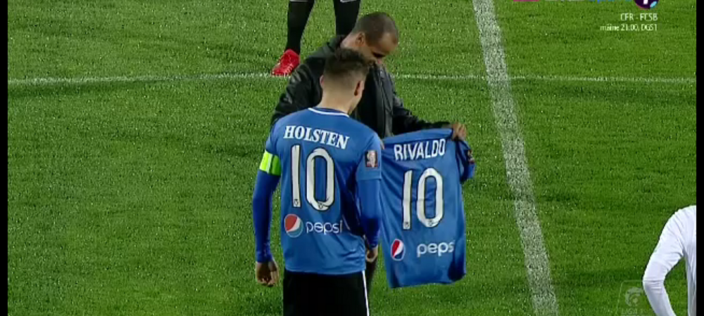 VIITORUL - CRAIOVA   Rivaldo, noul numar 10 de la Viitorul! :) Ce s-a intamplat pe teren inaintea meciului