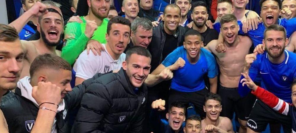 """Rivaldo s-a fotografiat cu echipa Viitorului dupa meciul cu Craiova si a facut o promosiune uriasa! """"Cu siguranta se va intampla asta!"""" FOTO"""