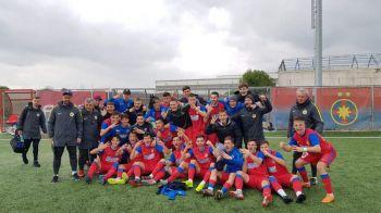 FCSB are viitor! Doua victorii in doua meciuri la juniori contra marii rivale, Dinamo
