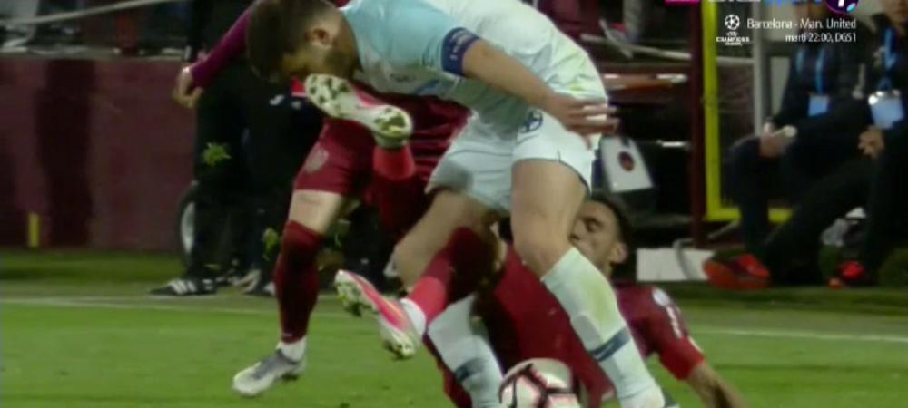 CFR - FCSB | Camora i-a dat cu PICIORUL IN FATA lui Filip sub ochii lui Kovacs!!! Merita eliminat?