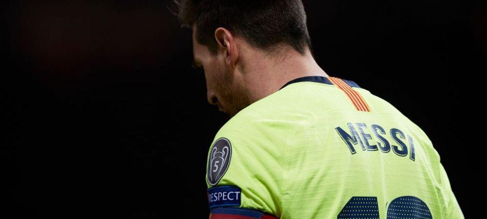 RECORD NEGATIV al lui Lionel Messi in UCL! Sferturile de finala nu-i priesc argentinianului din 2013 incoace