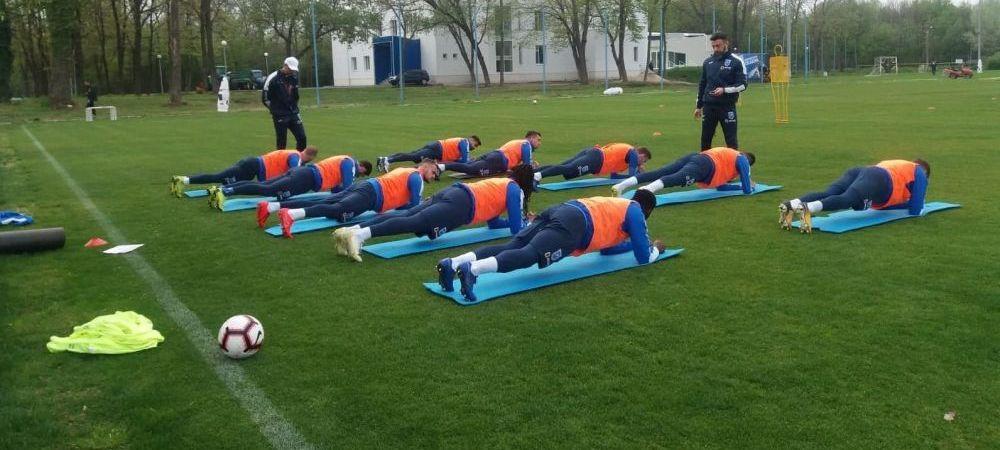 Oltenii s-au miscat rapid! Noul antrenor al Craiovei a efectuat deja primul antrenament cu echipa | FOTO