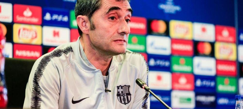 """BARCELONA - MANCHESTER UNITED   E OBLIGATORIU sa respecte asta! Valverde a anuntat tactica pentru meciul cu United: """"Asta e ceea ce conteaza"""" Care e cea mai mare temere a Barcei"""