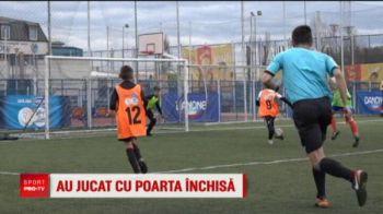 Un portar de handbal va merge sa apere in finala Cupei Hagi-Danone de la Constanta! Pustiul a impresionat la fotbal