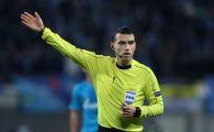 Hategan, trimis de UEFA la cel mai tare meci al sferturilor Europa League! Ce partida arbitreaza romanul