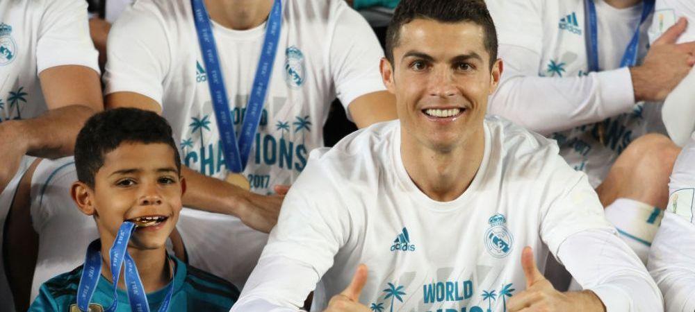 Asa tata, asa fiu! Cristiano Ronaldo Jr, recital pentru echipa U-10 a lui Juventus! Cate goluri a inscris intr-o singura repriza!