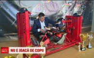 Primul simulator de Formula 1 din Romania a fost construit de un bistritean! Cat a costat! VIDEO