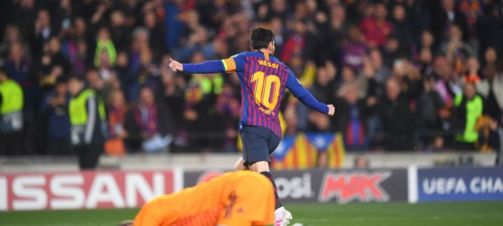 BARCA - MAN UNITED   Gafa MONUMENTALA a lui De Gea in fata lui Messi! Pana si spaniolii fac misto de portarul nationalei