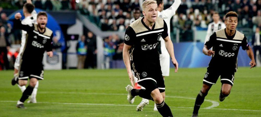 AJAX IN SEMIFINALELE UEFA CHAMPIONS LEAGUE | Seara recordurilor pentru olandezi! 6 jucatori din primul 11 nu erau nascuti la ultima semifinala a lui Ajax