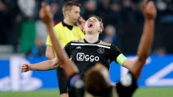 Asa se scrie istoria in UEFA Champions League! Bucuria unei calificari in semifinale! Cum au sarbatorit jucatorii lui Ajax! GALERIE FOTO
