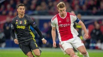Absolut FABULOS! Cum arata capitanul lui Ajax cand Cristiano Ronaldo castiga primul Balon de Aur! Ce echipament purta De Ligt!
