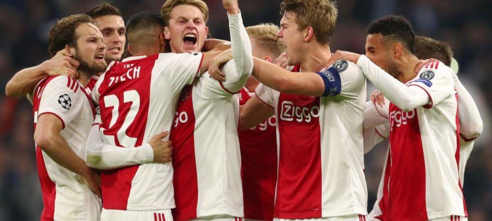 Ajax poate incasa pana la 200.000.000 euro la vara din vanzarea a 4 jucatori! Noile stele ale fotbalului, tinte pentru Barca, Chelsea, Arsenal si Tottenham