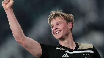 """""""Ce ai face daca Ajax ar juca finala cu Barcelona?"""" Raspunsul sincer dat de Frenkie De Jong"""