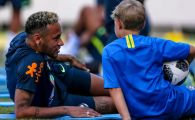 """Asa tata, asa fiu!"" FABULOS: Neymar si fiul sau s-au intrecut la ""dat cu pumnul"" Cine a castigat | VIDEO"