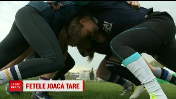 Joaca rugby in nationala Romaniei si fotbal in cea a Moldovei! E povestea fetei care iubeste sporturile dure