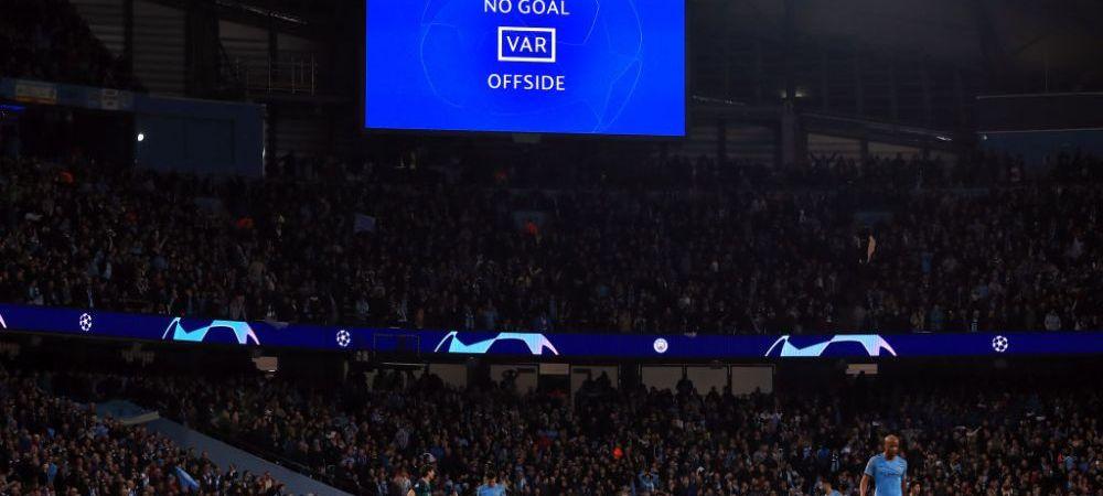 MAN CITY - TOTTENHAM 4-3   Semifinalista UEFA Champions League, decisa de VAR! Sterling a marcat golul calificarii lui Man City in minutul 90+3, reusita a fost anulata incredibil!