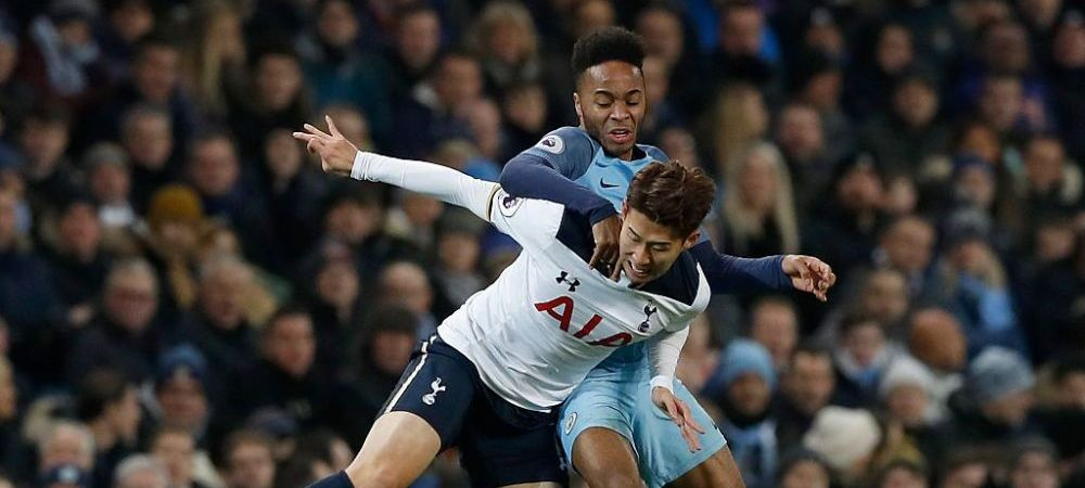 MANCHESTER CITY - TOTTENHAM 4-3 | FABULOS! Partida recordurilor spulberate: Son si Sterling, unici in istoria UEFA Champions League