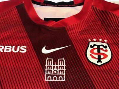 Echipa care si-a imprimat Catedrala Notre Dame pe tricourile de joc! In weekend le va folosi in premiera, cu scopul de a strange bani