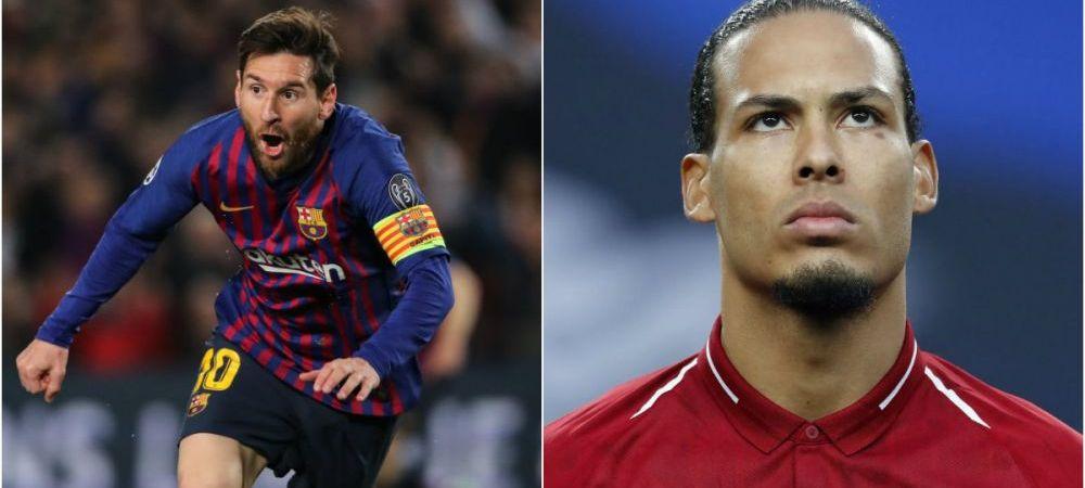 """""""Ai vreun antidot pentru Messi?"""" Ce raspuns a dat Van Dijk, zidul lui Liverpool, dupa calificarea in semifinalele UCL! Olandezul e considerat cel mai bun fundas al momentului"""