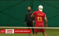 """Seful Federatiei de tenis cu piciorul din Franta e roman: """"Nu stiau ce se intampla, ce cauta mingea de fotbal pe terenul de tenis"""""""
