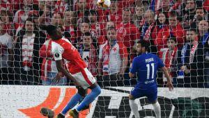 CHELSEA - SLAVIA PRAGA   FAZA FABULOASA: bara-fata-gol! Cum a fost marcat golul doi al englezilor! Ghinion teribil pentru Slavia. VIDEO