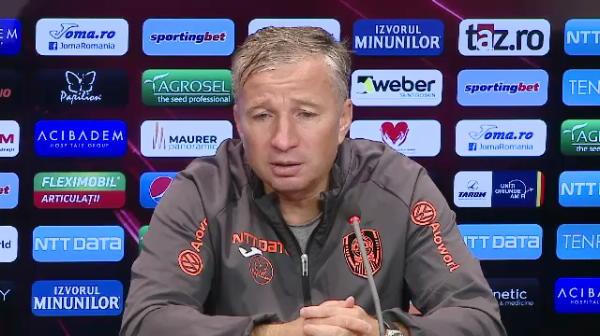 """Teja, urmatorul demis dupa Mangia? """"Se poate intampla orice!"""" Ce spune Dan Petrescu despre transferul lui Stoian"""
