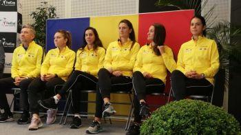 FRANTA - ROMANIA FED CUP   Cu cine joaca Simona Halep in primul meci din semifinala! Surpriza mare a Frantei