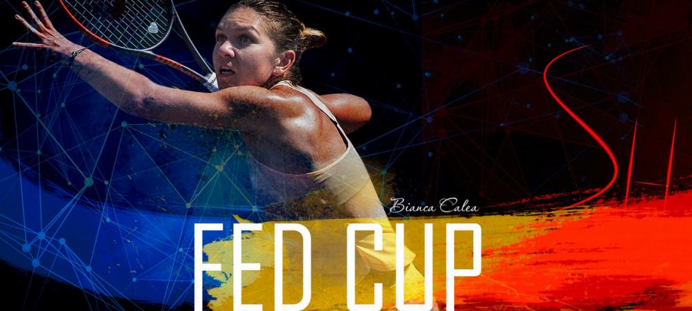 "FRANTA - ROMANIA FED CUP | Reactia Simonei Halep dupa tragerea la sorti: ""Am emotii, trebuie sa recunosc"""