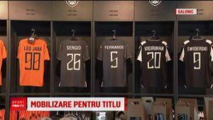 Fanii lui PAOK s-au pregatit de marea petrecere! Cum vor sarbatori titlul asteptat de 34 de ani: Razvan Lucescu, personaj central