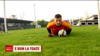 Caz incredibil: a calificat-o pe Steaua in play-off la baschet, a doua zi i-a invins pe ros-albastri la rugby in tricoul lui Dinamo! Situatie UNICA in Romania