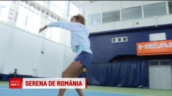 Ea e Serena de Romania! O are model pe Halep si vrea sa ajunga lider mondial: la 15 ani are 15 titluri nationale