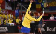 FRANTA ROMANIA FED CUP | Reactie FABULOASA a Simonei dupa ce a reusit primul break al meciului! A reusit din a treia incercare | VIDEO