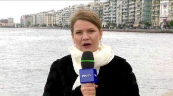Nebunie la Salonic: PAOK poate castiga duminica titlul! Niciun avion nu mai decoleaza, din cauza artificiilor