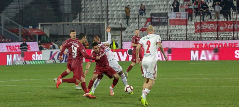SEPSI 0-1 CFR CLUJ | Tucudean a decis meciul de la Sfantu Gheorghe chiar la revenire! CFR, la 6 puncte de FCSB!