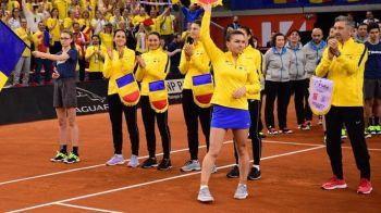 FRANTA - ROMANIA FED CUP | ULTIMA ORA: Schimbare in echipa Romaniei si o posibila surpriza din partea Simonei! Meciurile decisive pentru finala