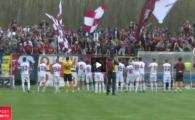 VIDEO: Afumati 1-1 Rapid, 500 de suporteri rapidisti au facut atmosfera in tribune