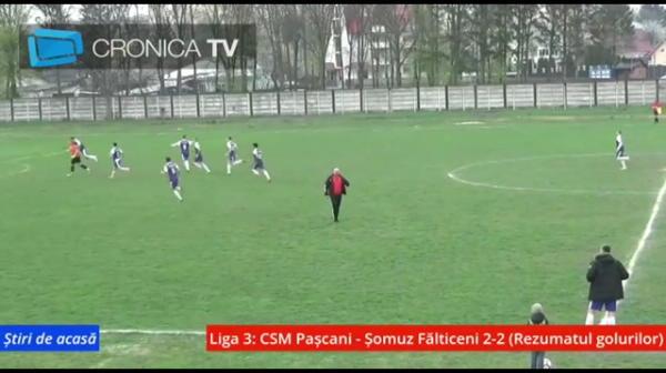 VIDEO | GOL FABULOS al portarului din lovitura libera: era minutul 90+4! Faza incredibila in Liga 3: cum s-a bucurat portarul de la Falticeni