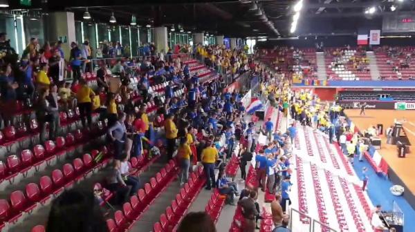 Suporteri romani Franta - Romania Fed Cup