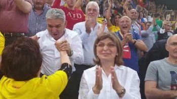 FRANTA - ROMANIA FED CUP | Mama Simonei Halep, in lacrimi dupa victoria cu Garcia! Bucurie maxima in tabara Romaniei! VIDEO