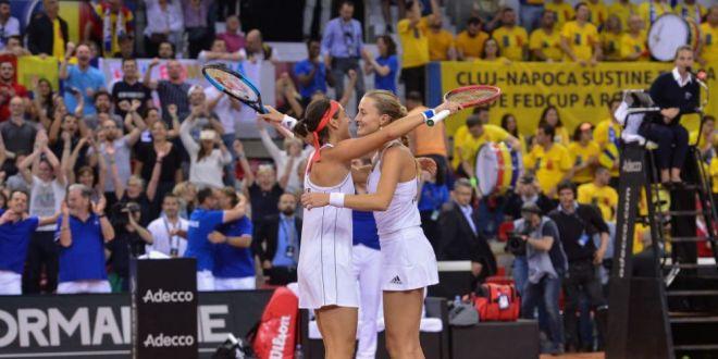 FRANTA - ROMANIA FED CUP | Mladenovic si Garcia, reactie dupa calificarea in finala cu Australia!  Simona a fost incredibila in aceste zile