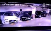 Momentul in care o masina Tesla explodeaza brusc intr-o parcare. VIDEO