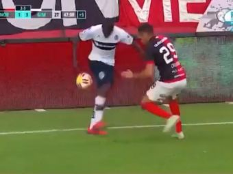 Spectacol total in Argentina! Driblingul care a ridicat fanii in picioare! Adversarul nu a mai stiut unde este mingea! :)
