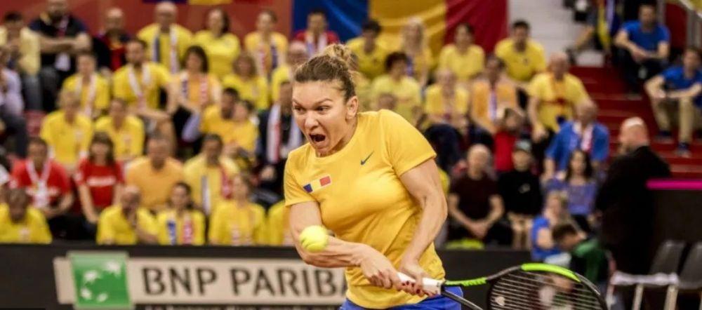 """""""Simona Romaniei si oamenii exceptionali de langa noi!"""" Florin Caramavrov, dupa meciul de Fed Cup cu Franta"""