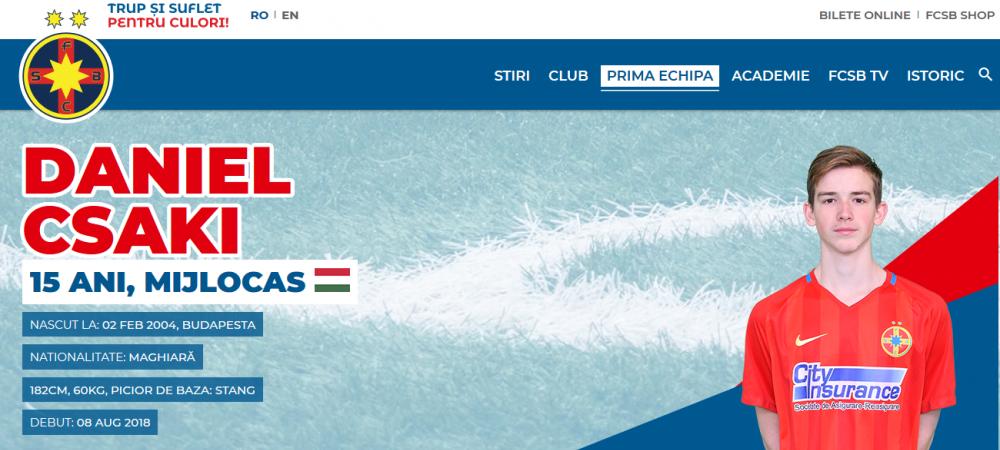Un jucator de la FCSB, chemat sa joace in nationala Ungariei! Anuntul e oficial