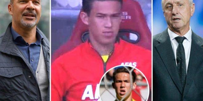 Nationala copiilor de fotbalisti are un nou jucator: fiul lui Gullit a debutat in Olanda la 17 ani! Mama lui e nepoata lui Cruyff!