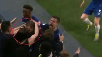 Sarbatoare interzisa minorilor dupa gol! Ce i-a facut o fana lui Higuain dupa reusita superba pentru Chelsea! VIDEO