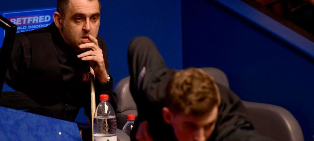 """""""Nu puteam sa stau treaz, ma doare tot corpul! Mi-e rau!"""" Declaratie socanta a lui Ronnie O'Sullivan dupa ce a fost eliminat de un jucator amator de la Mondialul de Snooker"""