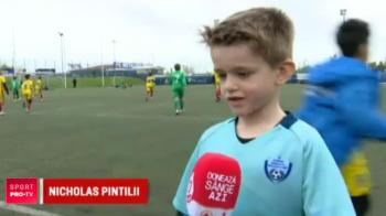 """Pintilii spera ca fiul sau sa-l depaseasca si sa ajunga la Barcelona! Pustiul are 6 ani: """"Messi e preferatul meu"""". VIDEO"""
